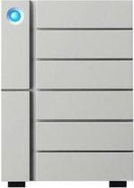 LaCie 6big 24TB Thunderbolt3 & USB 3.1 STFK24000402 - Zilver