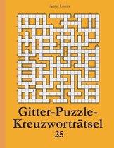 Gitter-Puzzle-Kreuzworträtsel 25