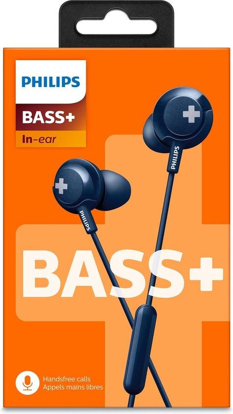 Philips SHE4305 -  Blauw - Draadloze Bluetooth In-ear oordopjes