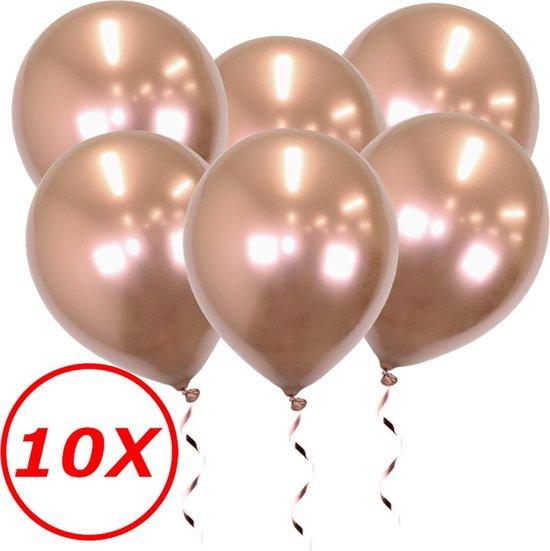 Rose Goud Ballonnen Verjaardag Versiering Rose Gouden Helium Ballonnen Bruiloft Rose Gouden Feest Versiering 10 stuks