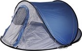 White Dragon 3 persoons pop-up tent - festival tent - Blauw -