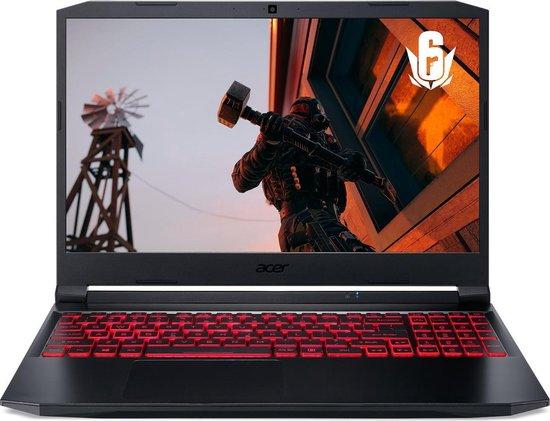 Acer Nitro 5 AN515-45-R35W - GeForce RTC 3060, 32 GB RAM, 1 TB SSD, 15.6 inch QHD 165 Hz scherm