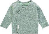 Noppies Shirt Hannah - Grey Mint - Maat 62