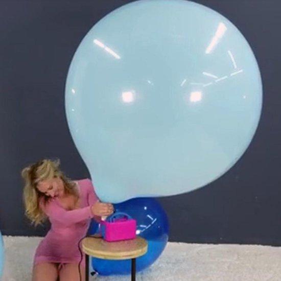 3 stuks Chinese 36 inch Ronde reuze ballonnen met mix kleuren - 90 cm - grote ballonnen