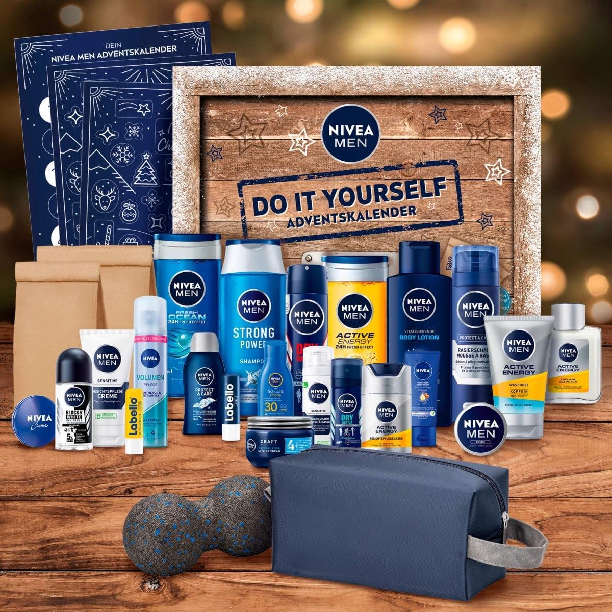 NIVEA MEN Adventskalender 2021 - do it yourself