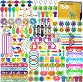 Uitdeelcadeautjes voor Kinderen - 150 Stuks - Voor Traktatie - Pinata Vulling - 27 Soorten Cadeautjes - Media Evolution®