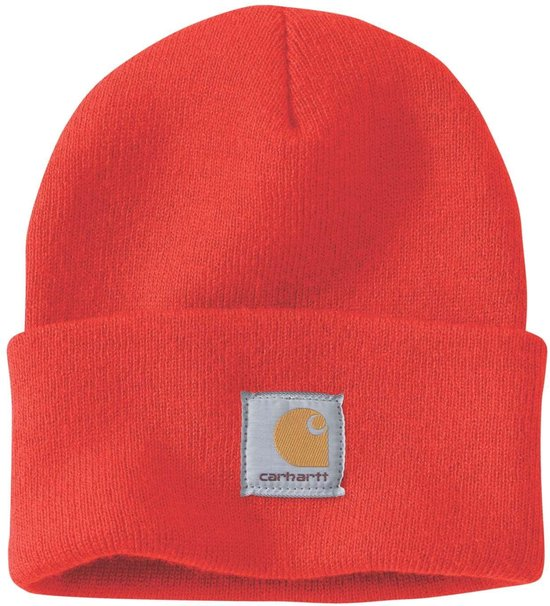 Carhartt Muts Acryl Watch Hat Unisex - A18 ACRYLIC WATCH CURRANT - One Size