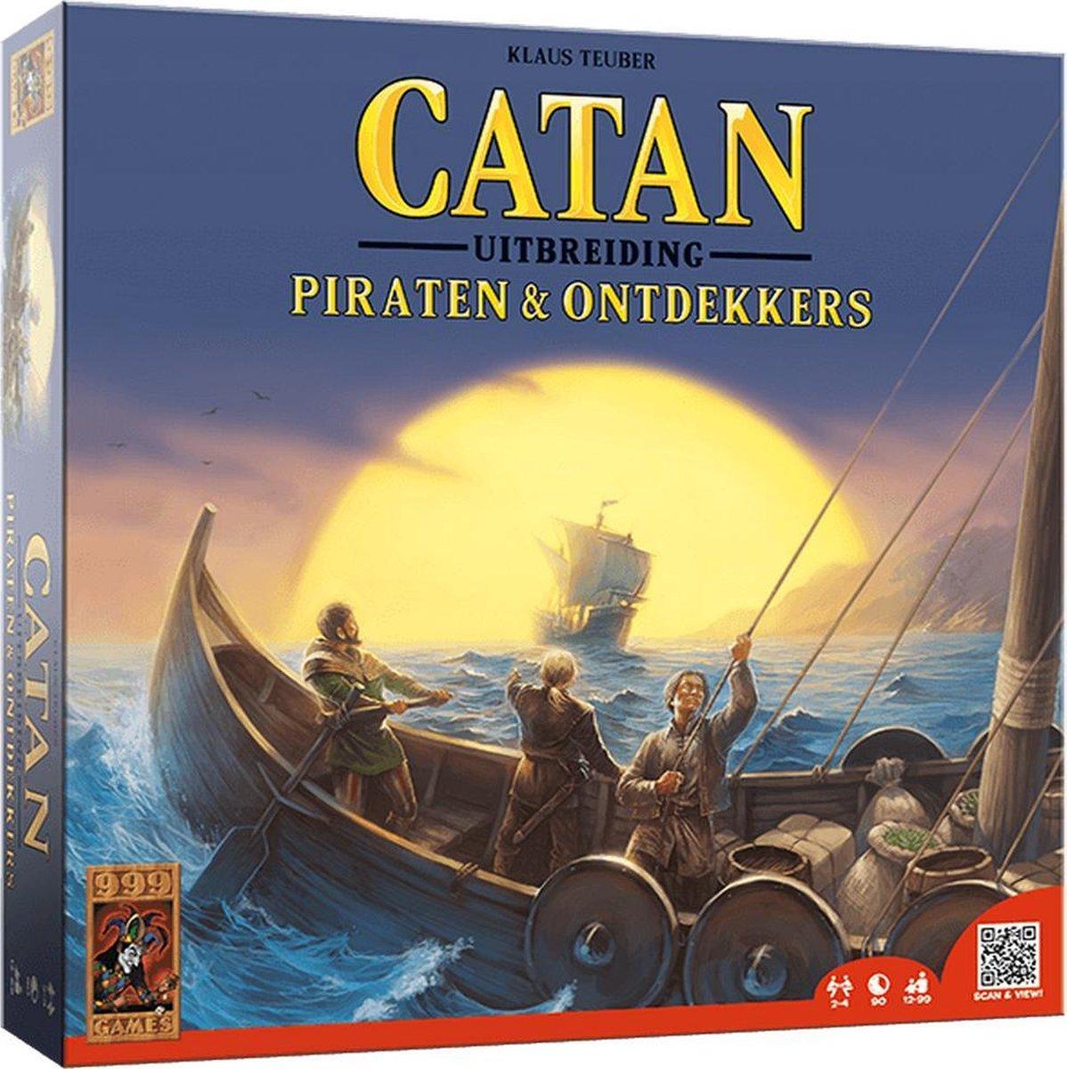 Catan: Piraten en Ontdekkers Bordspel