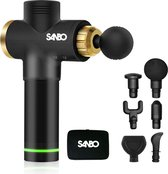 Sanbo® Massage gun Elite - sport en relax massage - professioneel - Inclusief Koffer - inclusief APP