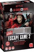 Escape Game 2 La Casa de Papel zwart/rood 58-delig