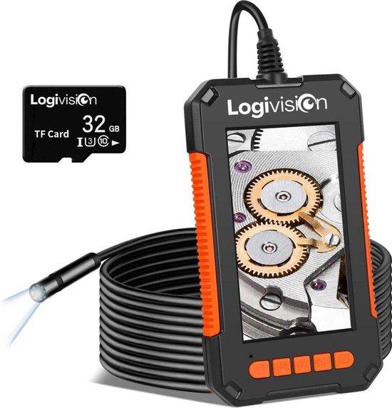 Inspectiecamera met Scherm 5M - Full HD 1080P - 4.3 Inch IPS Scherm - Endoscoop - Neem Foto's & Video's - IP67 Waterdicht - Inspectie Camera