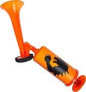 Boland - luchttoeter Nederland - 45 cm - oranje - supporter