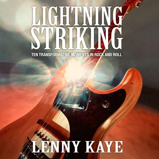 Boek cover Lightning Striking van Lenny Kaye (Onbekend)