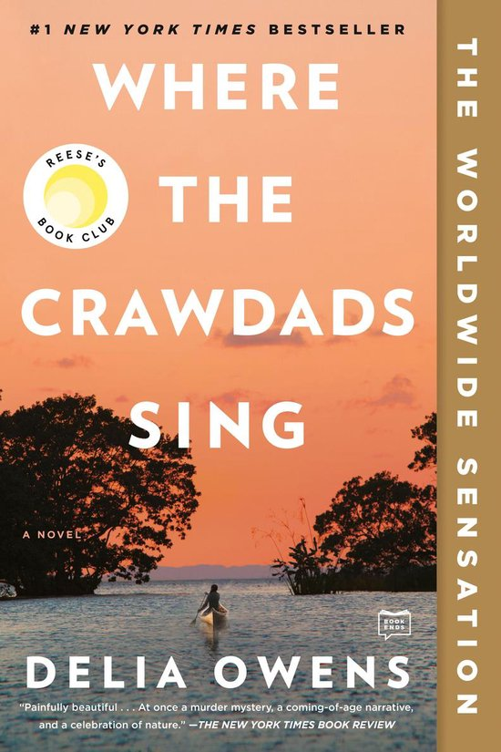 Omslag van Where the Crawdads Sing