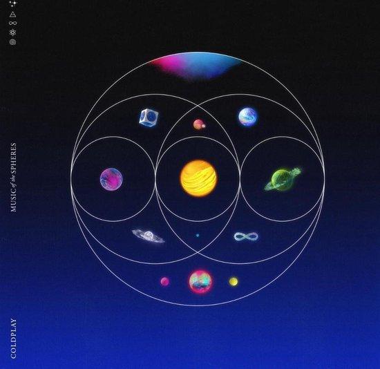CD cover van Music Of The Spheres van Coldplay