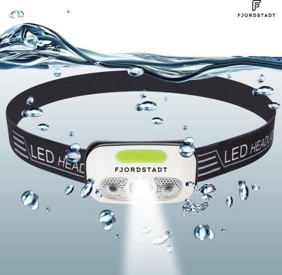 Hoofdlamp Fjordstadt - 140 Lumen - Wit - USB Oplaadbaar - Smart Sensor