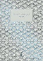 Structuurjunkie  -   Structuurjunkie notitieboek (grijs)