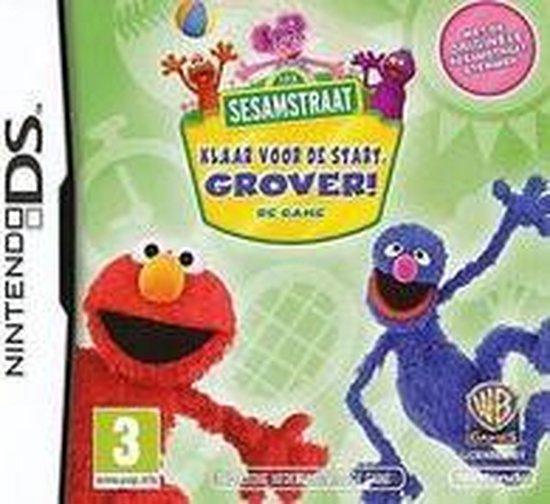 Sesamstraat: Klaar Voor De Start Grover! - Nintendo DS - Warner Home Video