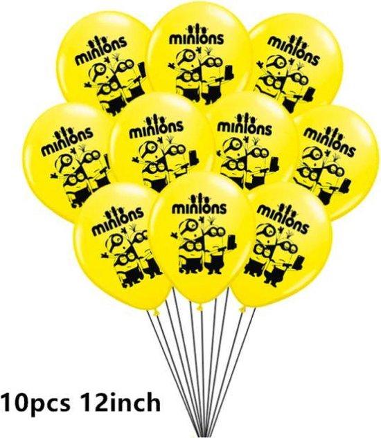 ProductGoods - 10x Minions Ballonnen Verjaardag - Verjaardag Kinderen - Ballonnen - Ballonnen Verjaardag - Minions - Kinderfeestje