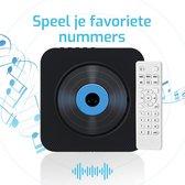 Moderne multifunctionele draagbare Cd-speler - Bluetooth Mode - Radio -  DVD - CD - Hifi - Kinderen - Afstandsbediening - Beschermkap - Inclusief standaard