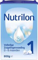 Nutrilon Volledige Zuigelingenvoeding 1 - Flesvoeding vanaf de geboorte - 800 gram