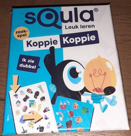 Afbeelding van het spel Squla Leuk leren - Koppie Koppie - zoekspel leerspel - identity games spel - educatief kaartspel