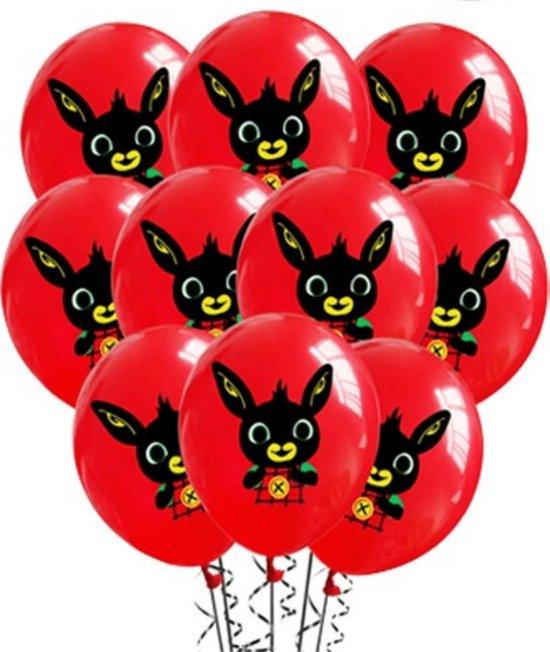 Bing Ballonnen - 10 Stuks - Latex Ballonnen - Helium Ballonnen