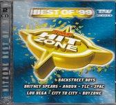 CD cover van TMF Hitzone: Best of 99 van various artists