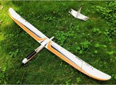 Zweefvliegtuig XL - EXTRA GROOT vliegtuig foam - Speelgoed vliegtuig - stuntvliegers - vliegtuig kinderen - buitenspeelgoed - Vliegtuig van verhard foam - op afstand bestuurbaar