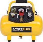Powerplus POWX1723 Compressor - 10 bar - 12 liter tankinhoud