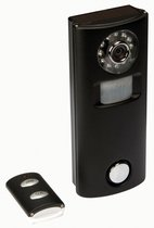 Pir-Alarm Met Camera En Draadloze Afstandsbediening - Zwart