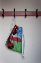 Re-Banner spelen - gymtas - turnzak - uniek product - duurzaam - wasbaar - slijtvast