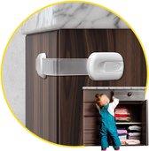 12 Stuks Holy Shibby Kinderslot kastjes - Kinderbeveiliging voor Kasten - Zelfklevend Slot voor Laden & Kasten