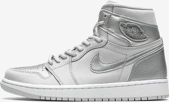 Nike Air Jordan 1 High OG CO JP, Neutral Grey/Metallic Silver, DC1788 029, EUR 40.5