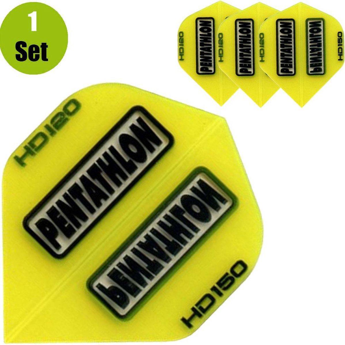 Pentathlon HD150 Dartflights - Geel- ()