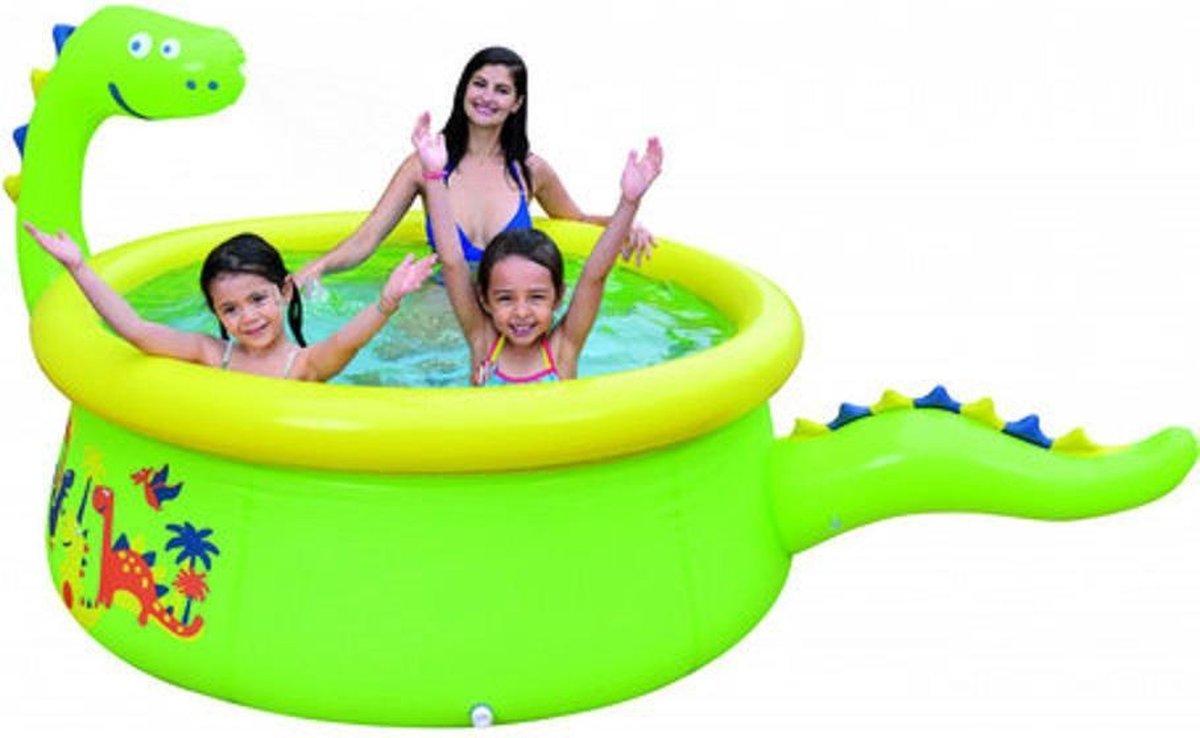 Dino zwembad opblaasbaar