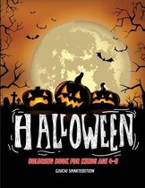 Halloween coloring book: Coloring book for kids