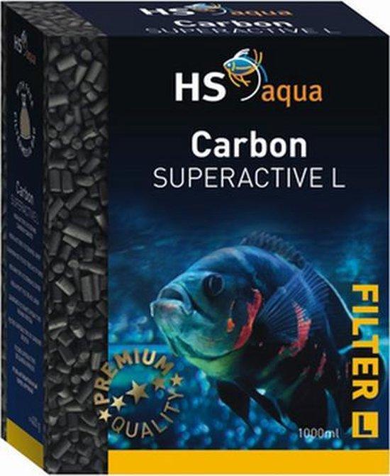 HS-aqua Carbon Superactive L | Hoogwaardige Actieve Kool | Inhoud: 1 Liter