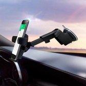 R2B Telefoonhouders auto met zuignap - Geschikt voor raam, dashboard en bureau - Gsm houder auto - Zwart