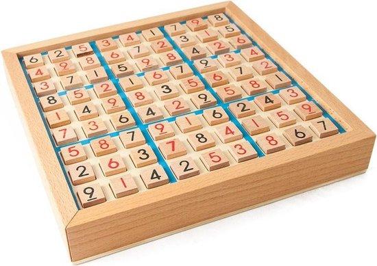 Afbeelding van het spel Sudoku Houten Bordspel Fysiek