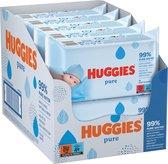 Huggies billendoekjes - Pure 99% water - 18 x 56 stuks - 1008 doekjes