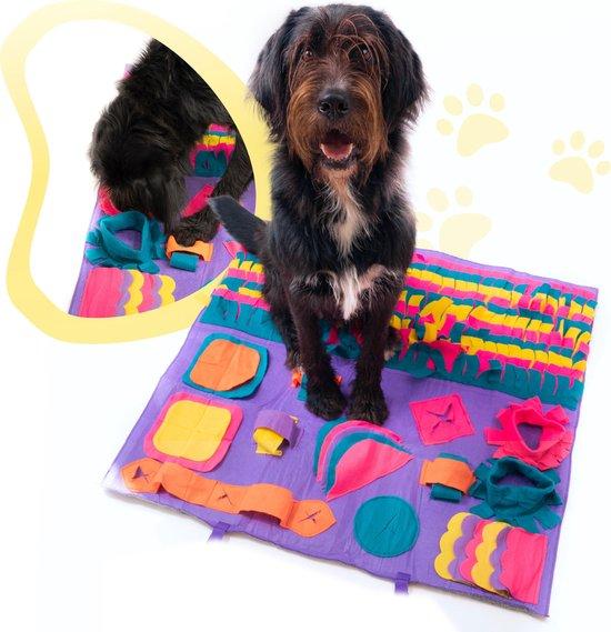 EasyHome-Animal Snuffelmat XL 90 x 90cm voor hond - Honden speelgoed intelligentie - trainingsmat - slowfeeder