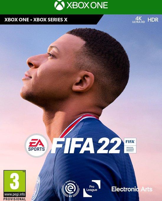 Cover van de game FIFA 22 - Xbox One