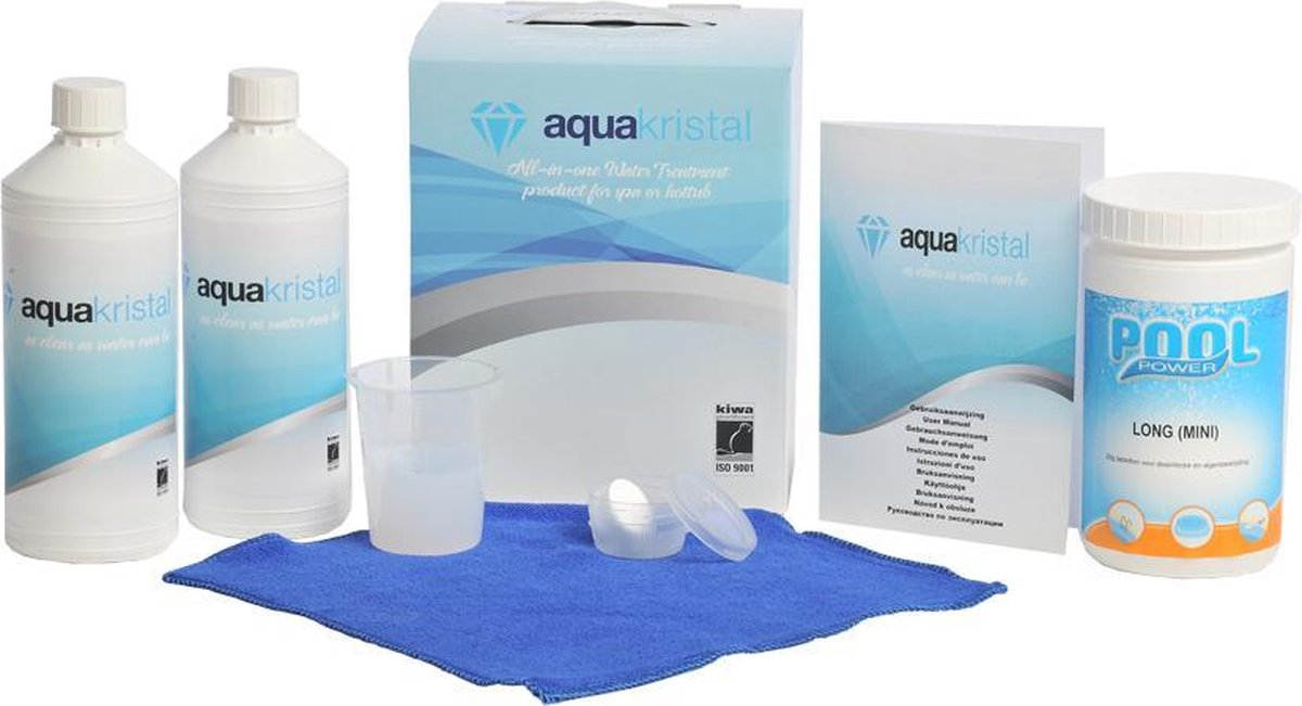 Aqua Kristal met chloor