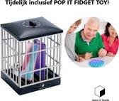 Desire of Goods® Telefoon kluis met tijdslot timer - Inclusief Fidget toys - Pop it