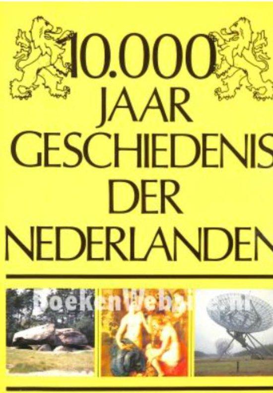 Cover van het boek '10.000 jaar geschiedenis der Nederlanden'