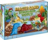 Grafix Magisch zand - Thema Dinosaurus Wereld   Speelset kinetisch zand - Zandspeelsets voor kinderen vanaf 3 jaar
