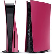 Playstation 5 Faceplates Inclusief Middle Skin - Disc Edition - Cosmic Red - Geschikt voor Sony - PS5 Accessoires - Kosmos Rood