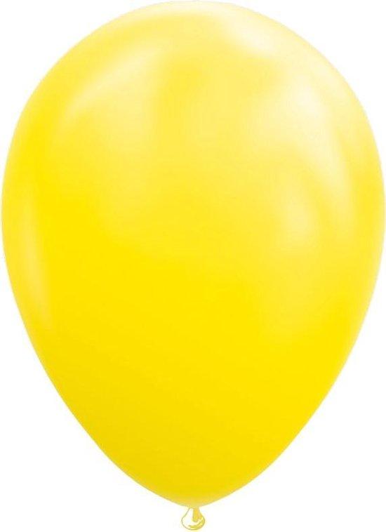 Wefiesta Ballonnen 30 Cm Latex Geel 10 Stuks