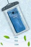 Mobstore Waterdichte Telefoonhoesje Transparant - Onderwater hoesje telefoon - Geschikt voor alle Smartphones - Ook voor paspoort & betaalpassen – Waterdichte telefoonzakje